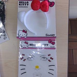 Hello Kitty Ears and Face Art Set